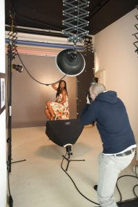 séance photo de portrait en studio