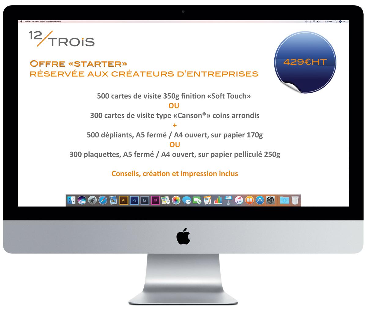 Création d'entreprise à Bordeaux, les premiers supports de communication